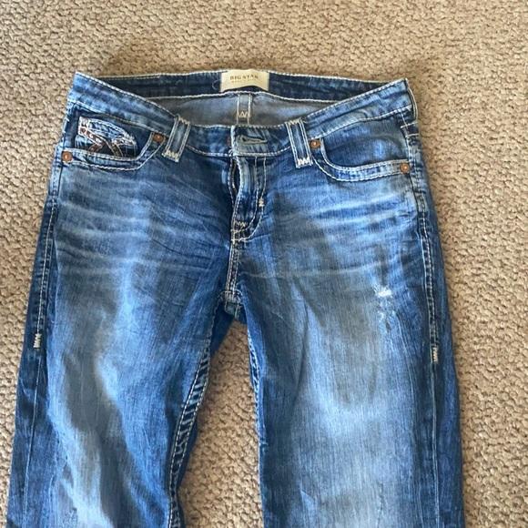 Women's size 28 r bke jeans